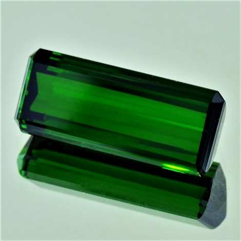 Green Tourmaline Tourmaline octagon green 23.15 ct