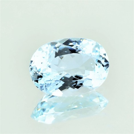 Aquamarine oval 7.19 ct