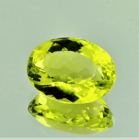 Lemonquarz oval 15,52 ct