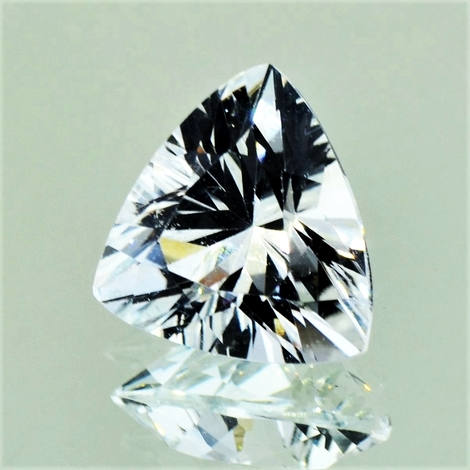 Topas Trillion farblos 9,12 ct