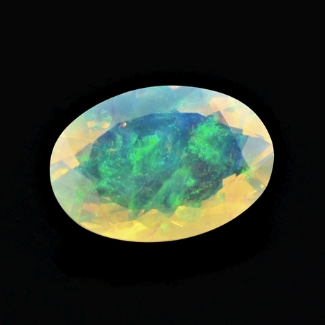 Edelopal oval multicolor 3,50 ct