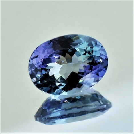 Tanzanite oval unheated 3.21 ct