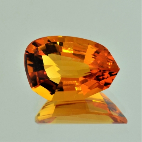 Citrine Fantasy orange 10.87 ct