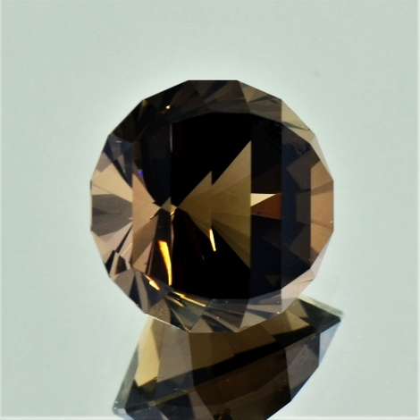 Smoky Quartz Rund-Design 11.68 ct