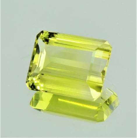 Lemonquarz octagon 12,51 ct
