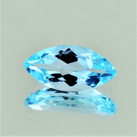 Blue Topaz marquise 8.67 ct