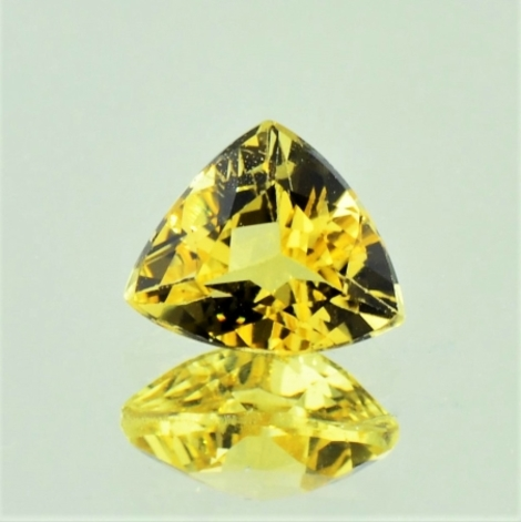 Goldberyll Trillion gelb 2,35 ct