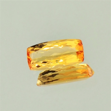 Imperial Topaz cushion 2.60 ct
