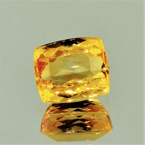 Imperial Topaz cushion 2.97 ct