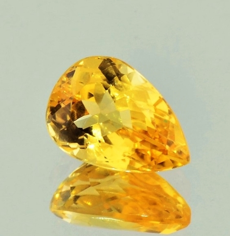 Imperial Topaz pear 4.47 ct