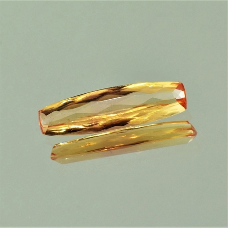 Imperial Topaz cushion 3.54 ct