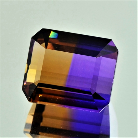 Ametrine octagon 31.34 ct