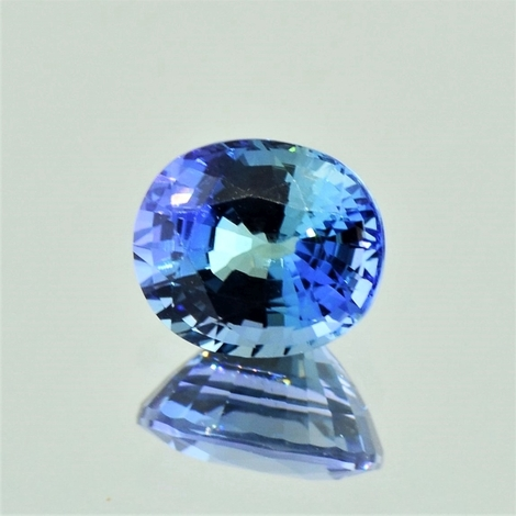Tanzanite oval unheated 2.60 ct