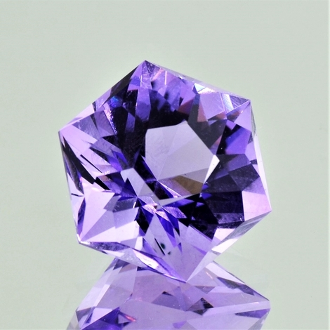 Amethyst Design-Sechseck lilac 16.41 ct