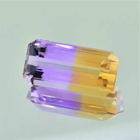 Ametrine octagon 10.59 ct