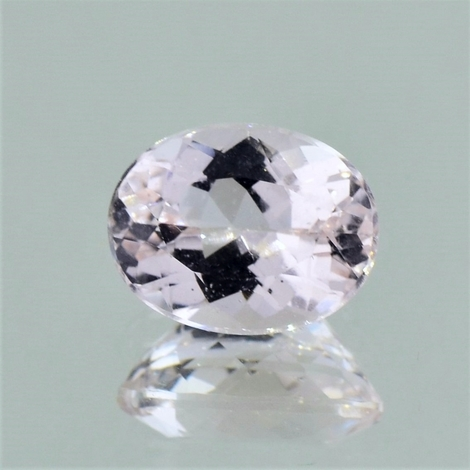 Morganit oval zartrosa 3,75 ct
