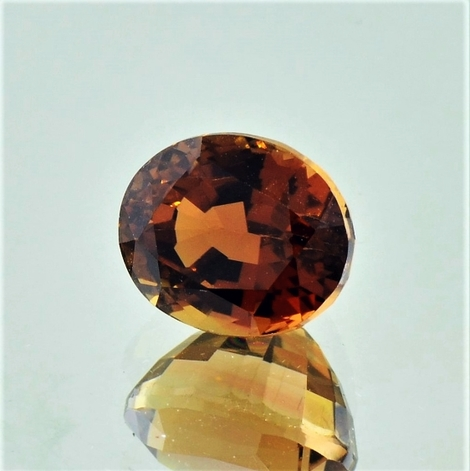 Tourmaline Dravite oval 4.46 ct