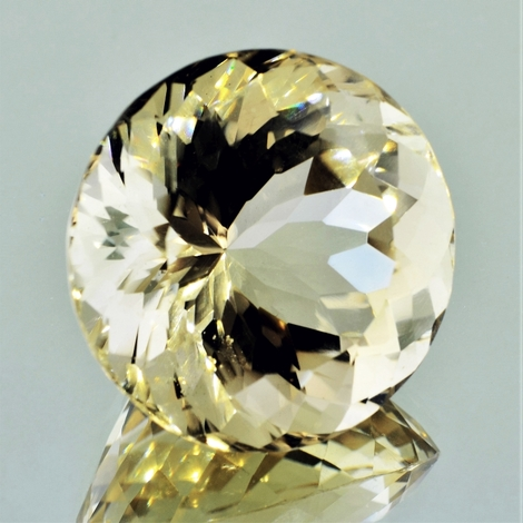 Citrine round unheated 100.75 ct