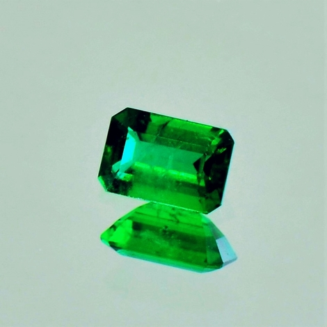 Emerald octagon 0.49 ct