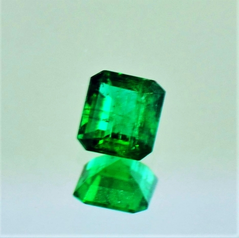 Emerald octagon 0.39 ct