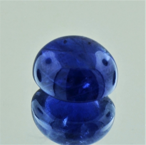 Sapphire Cabochon oval blue unheated 11.91 ct