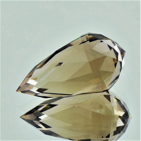 Smoky Quartz Briolette 21.37 ct