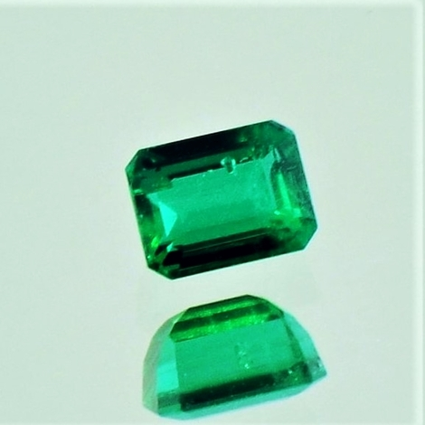 Emerald octagon 0.43 ct