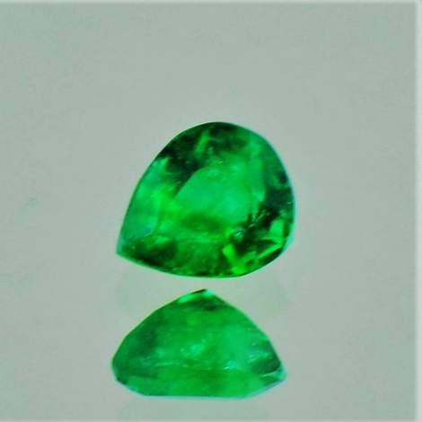 Emerald pear 0.45 ct