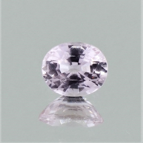 Sapphire oval light pink unheated 1.22 ct