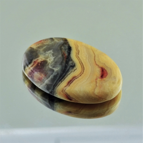 Jasper Cabochon oval multicolor 50.31 ct