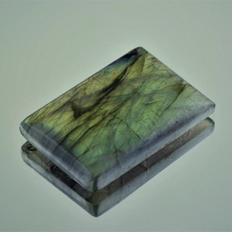 Labradorite rectangle 77.11 ct