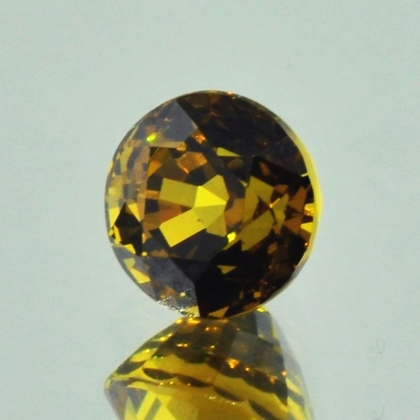 Mali-Granat, Rund facettiert (2,84 ct.) aus Mali (Sandare District)