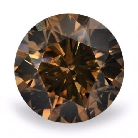 Fancy Diamond round brilliant deep brown 2.52 ct