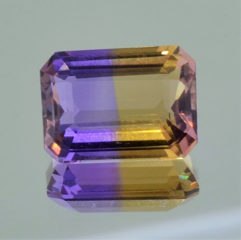 Ametrine octagon 9.76 ct