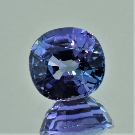 Tanzanite cushion unheated 3.06 ct