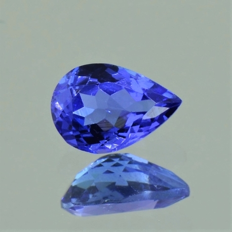 Tanzanite pear 1.10 ct