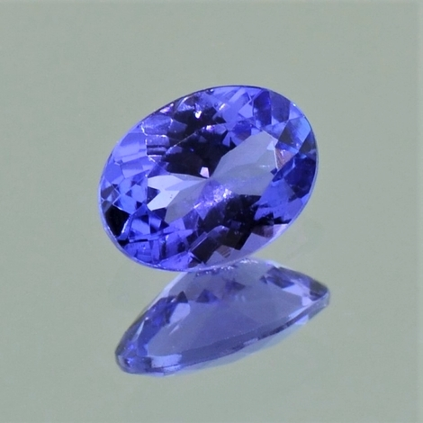 Tanzanite oval 0.97 ct