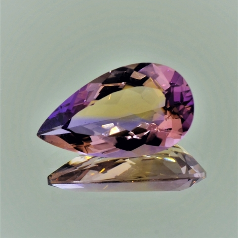 Ametrine pear 8.16 ct