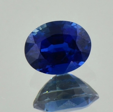 Saphir, Oval facettiert (1,09 ct.) aus Sri Lanka