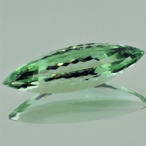 Prasiolite marquise light green 36.50 ct