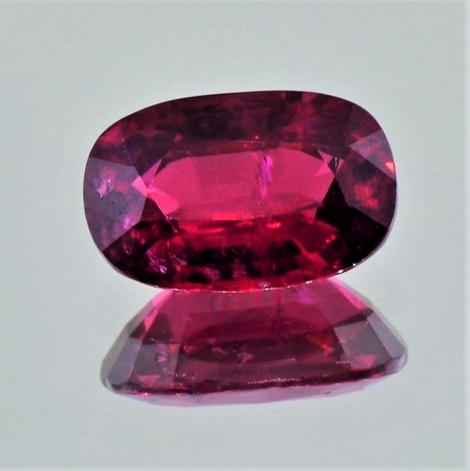 Ruby oval red unheated 4.03 ct