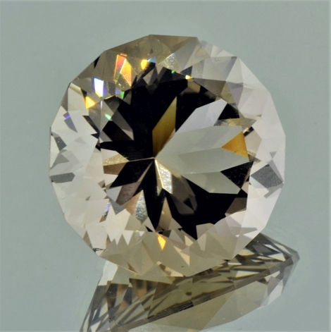 Smoky Quartz Rund-Design 76.67 ct