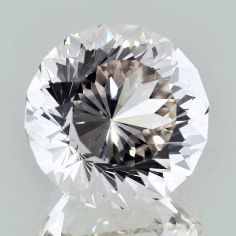 Topaz Rund-Design colorless 49.24 ct