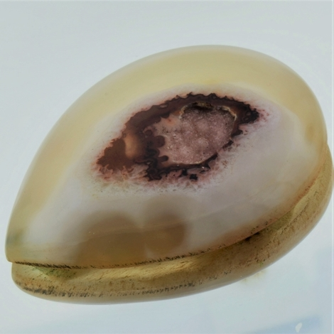 Agate Cabochon pear 192.76 ct