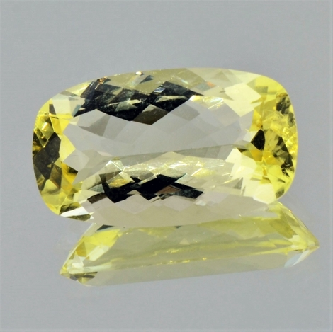Scapolite cushion yellow 15.54 ct