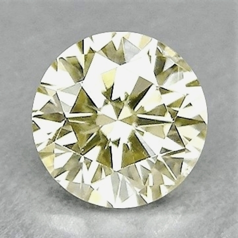 Fancy Diamond round brilliant grünlich-hellgelb 1.02 ct