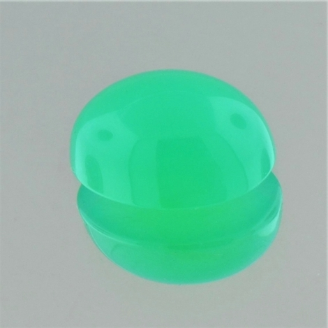 Chrysopras Cabochon oval 6,69 ct