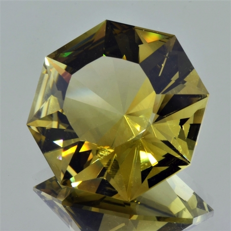Citrine Achteck-Design 83.05 ct
