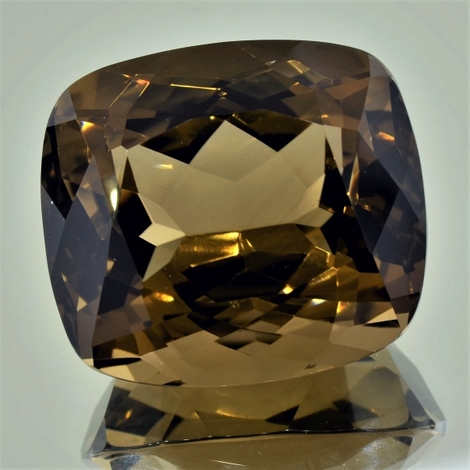 Smoky Quartz cushion 222.62 ct