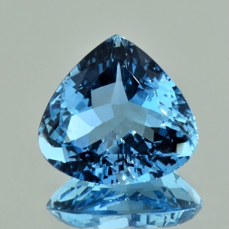 Aquamarine pear light blue untreated 14.76 ct